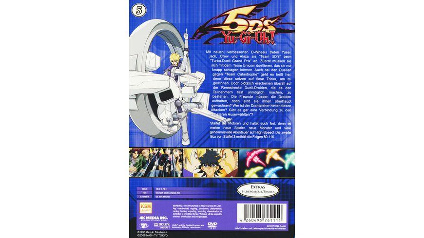 Yu Gi Oh 5D s Staffel 3 2 Episoden 89 116 5 DVDs