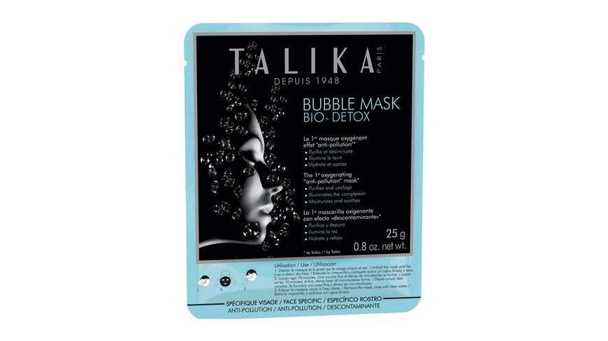 TALIKA Bubble Mask Detox