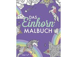 Das Einhorn Malbuch Ausmalbuch fuer Kinder und Erwachsene