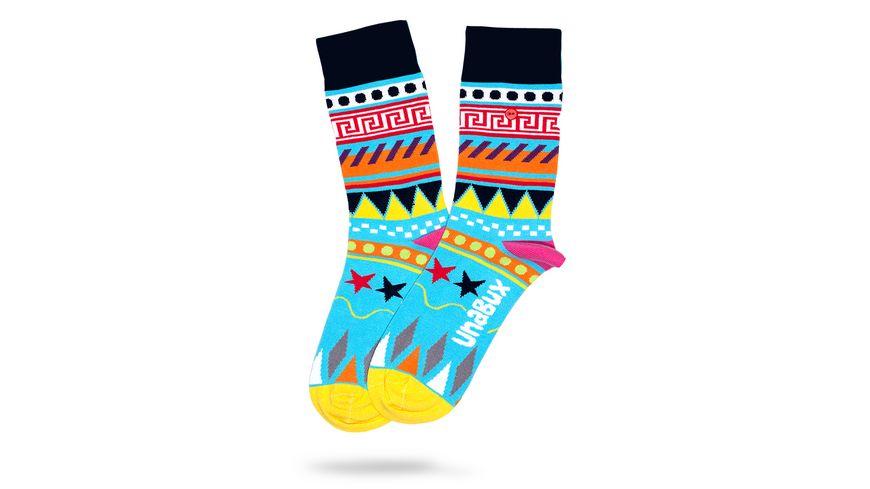 Unabux Socke Ethno Unisex