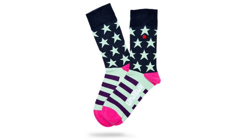 Unabux Socke Sternenmuster Unisex