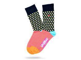Unabux Socke Punkte Muster Unisex