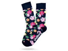 Unabux Socke Blume Unisex