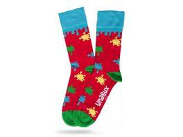 Unabux Socke Kleckse Unisex