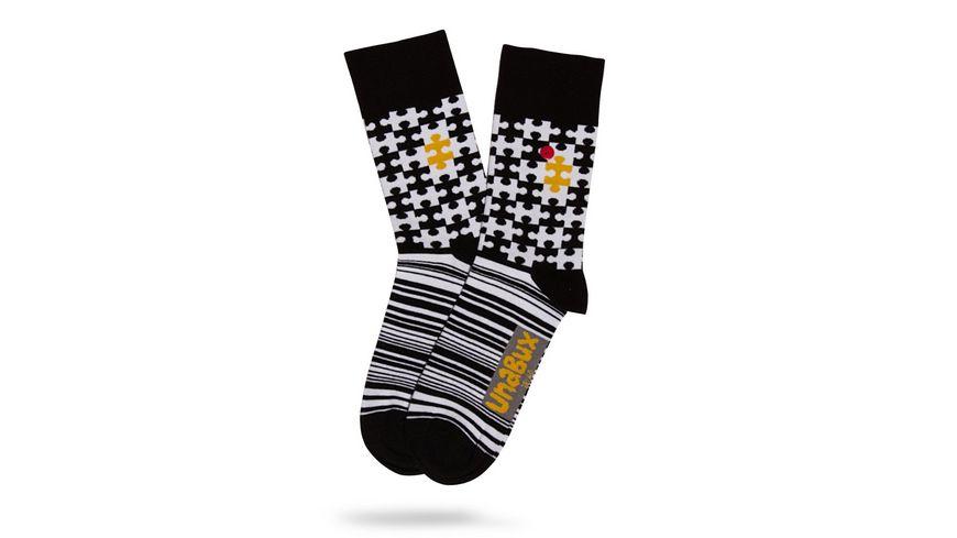 Unabux Unisex Socken Puzzle
