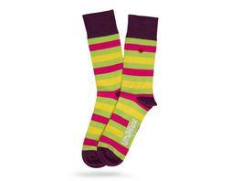 Unabux Socke Streifen Unisex