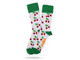 Unabux Socke Kirsche Unisex