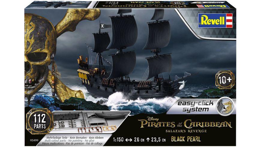 Revell 05499 Piratenschiff BLACK PEARL