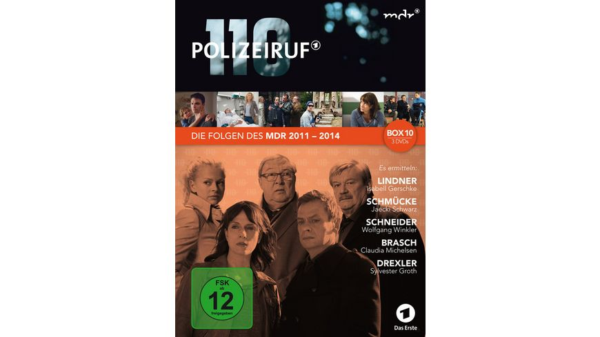 Polizeiruf 110 MDR Box 10 3 DVDs