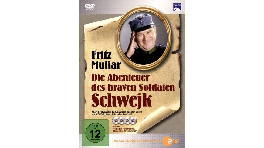 Die Abenteuer des braven Soldat Schwejk 4 DVDs