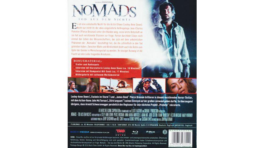 Nomads Tod aus dem Nichts
