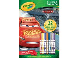 Vivid Crayola Cars 3 Mal Spielbuch