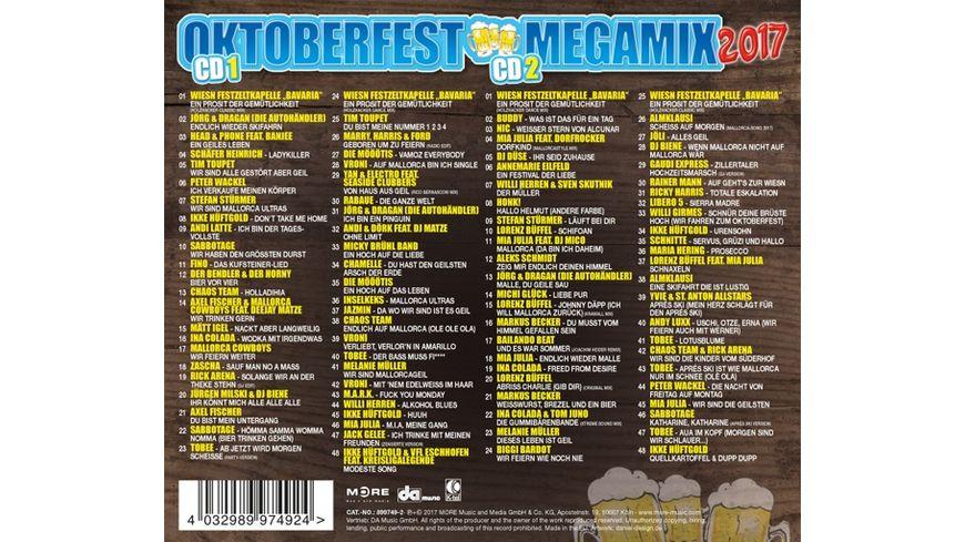 Oktoberfest Megamix 2017