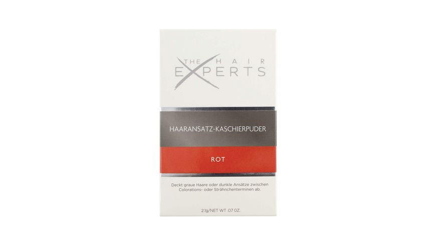 The HAIR EXPERTS Haaransatz Kaschierpuder Rot