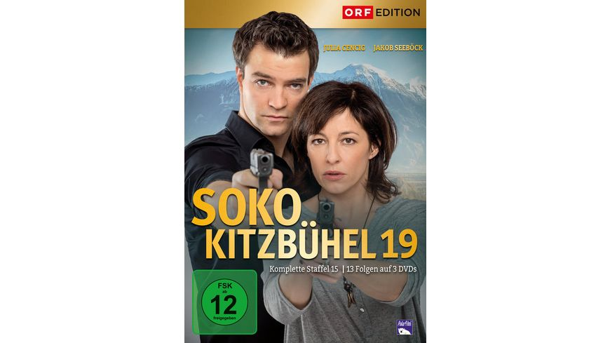 SOKO Kitzbuehel Box 19 3 DVDs