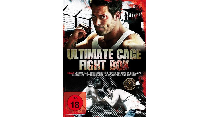 Ultimate Cage Fight Box CE 2 DVDs