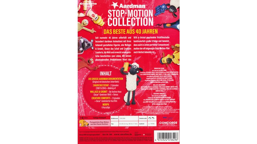 Aardman Stop Motion Colletion