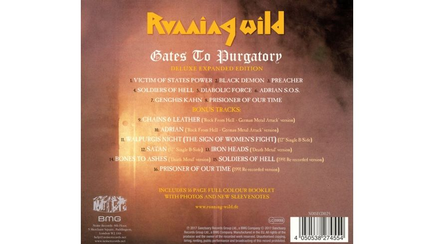 Gates to Purgatory Expanded Version 2017 Remaster