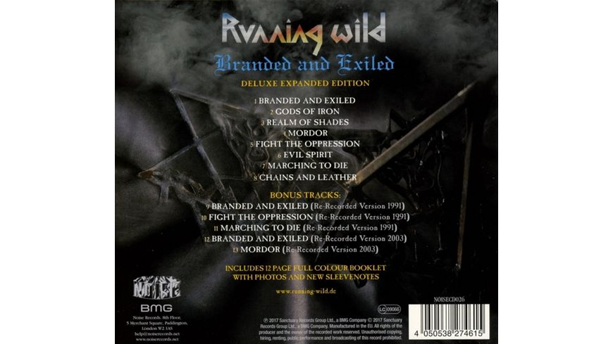 Branded and Exiled Expanded Version 2017 Remaster