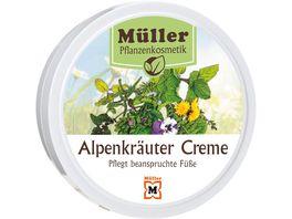 Mueller Pflanzenkosmetik Creme Alpenkraeuter