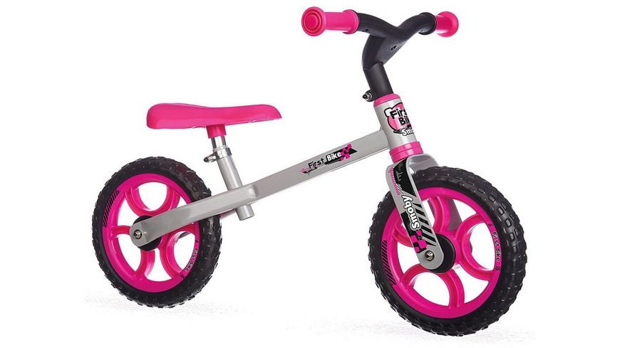 Smoby Laufrad First Bike rosa