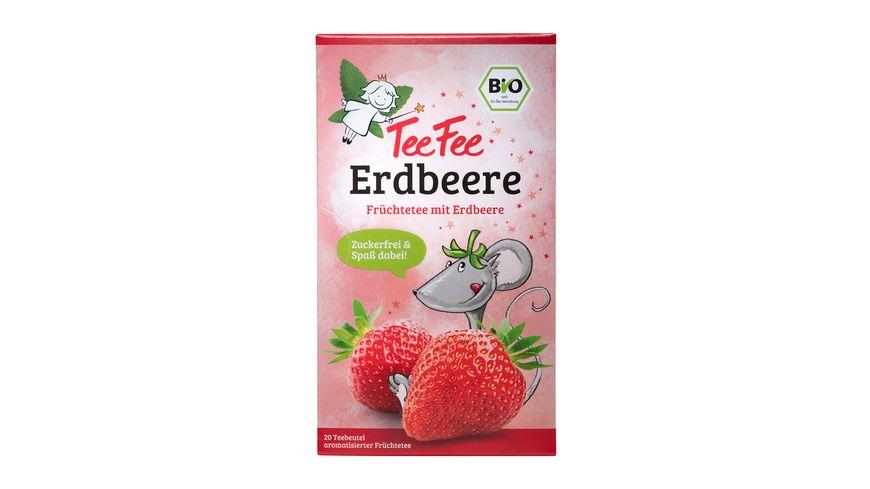 TeeFee Bio Früchtetee Erdbeere