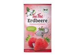 TeeFee Bio Fruechtetee Erdbeere