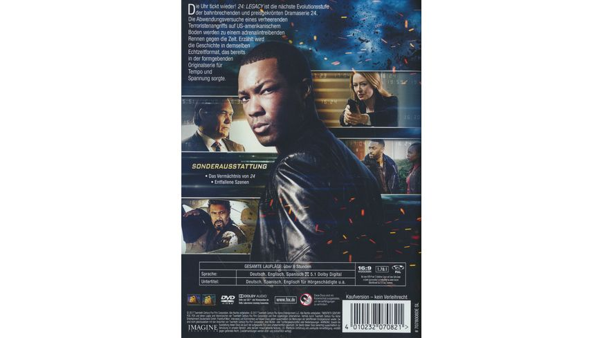 24 Legacy 4 DVDs