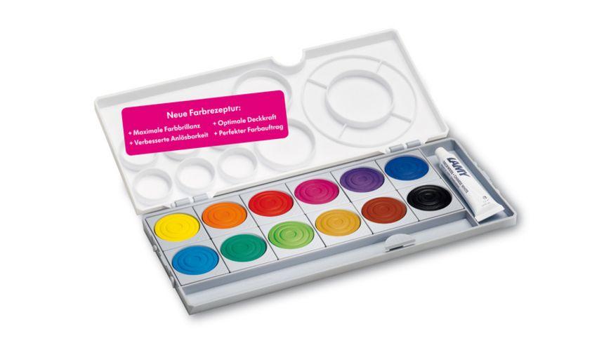 LAMY Deckfarbkasten aquaplus 12 Farben