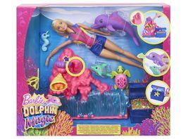 Mattel Barbie Magie der Delfine Unterwasser Spielset