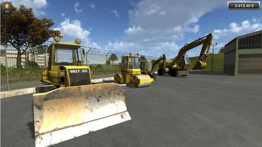 Baumaschinen Die Simulation