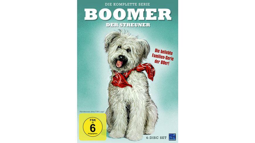 Boomer Der Streuner Die komplette Serie 4 DVDs