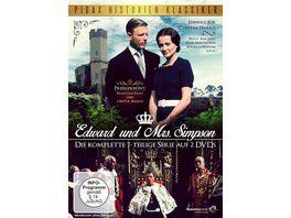 Edward und Mrs Simpson 2 DVDs