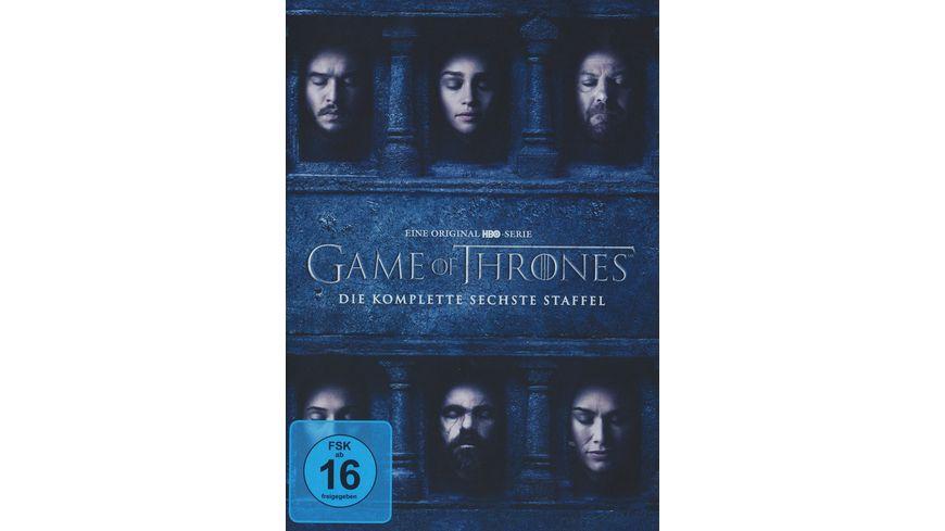 Game Of Thrones Staffel 6 5 Dvds Online Bestellen Müller