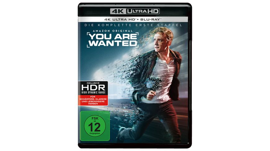 You are wanted Die komplette 1 Staffel 2 Blu rays 4K Ultra HD 2 Blu rays 2D