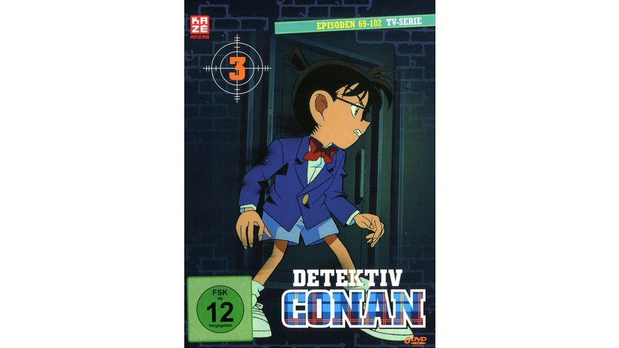 Detektiv Conan TV Serie DVD Box 3 Episoden 69 102 6 DVDs