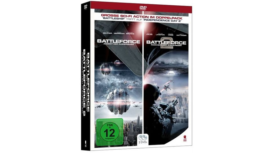 Battleforce 1 2 2 DVDs