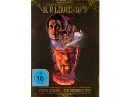 H P Lovecraft Movie Double Feature From Beyond The Resurrected Mediabook 2 BRs