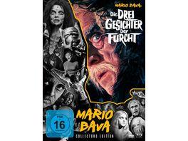 Die drei Gesichter der Furcht Mario Bava Collection 5 DVD Bonus DVD CE