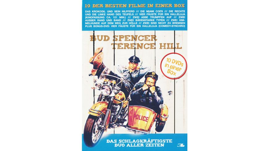 Bud Spencer Terence Hill Box 10 DVDs