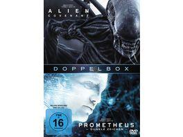 Prometheus Alien Covenant 2 DVDs
