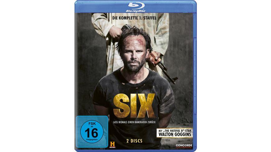 Six Die komplette 1 Staffel 2 BRs