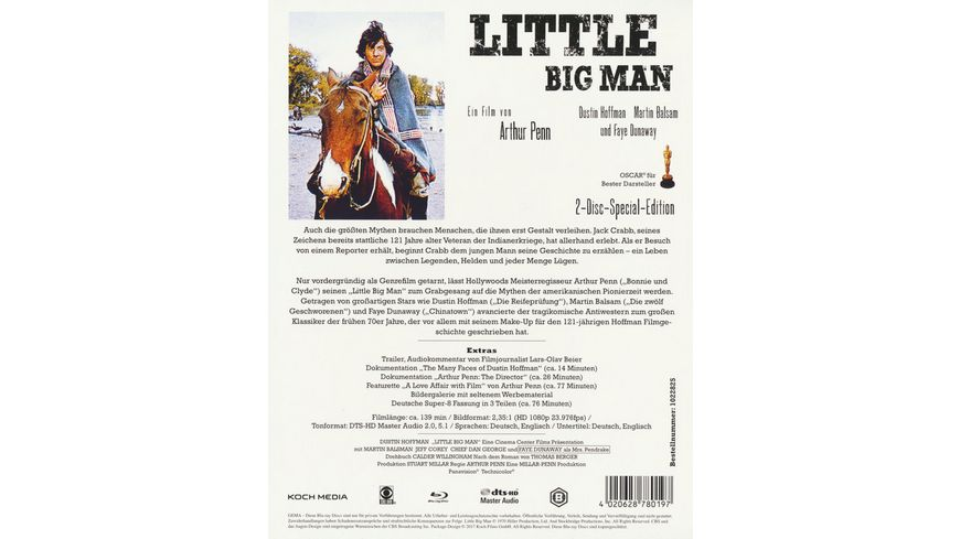 Little Big Man Bonus Blu ray SE