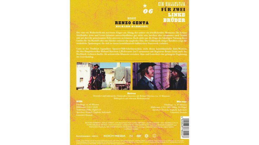 Ein Halleluja fuer 2 linke Brueder Westernhelden 5 DVD