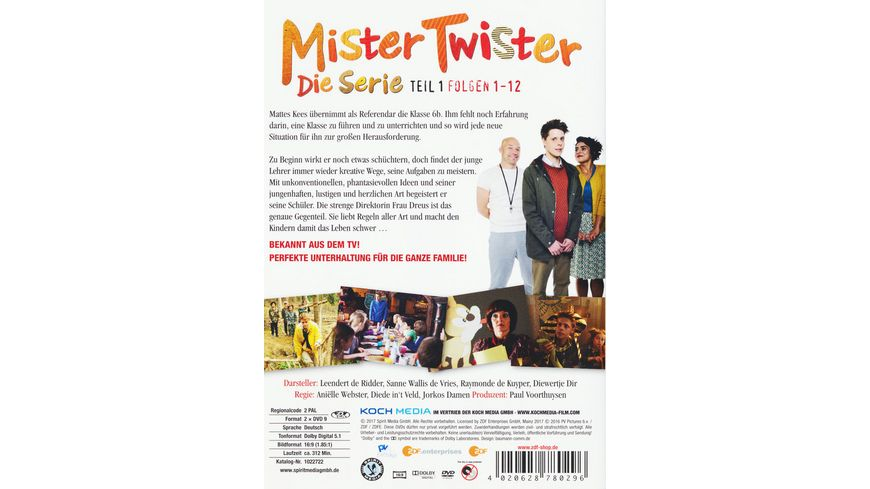 Mister Twister Die TV Serie Vol 1 2 DVDs