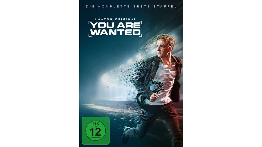 You are wanted Die komplette 1 Staffel 2 DVDs