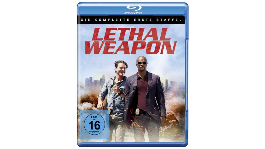Lethal Weapon Die komplette 1 Staffel 3 BRs