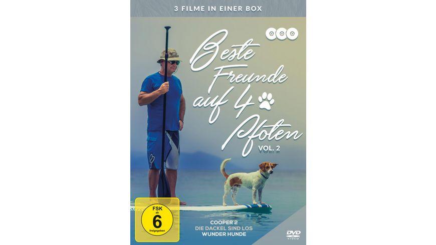 Beste Freunde auf vier Pfoten Vol 2 3 DVDs