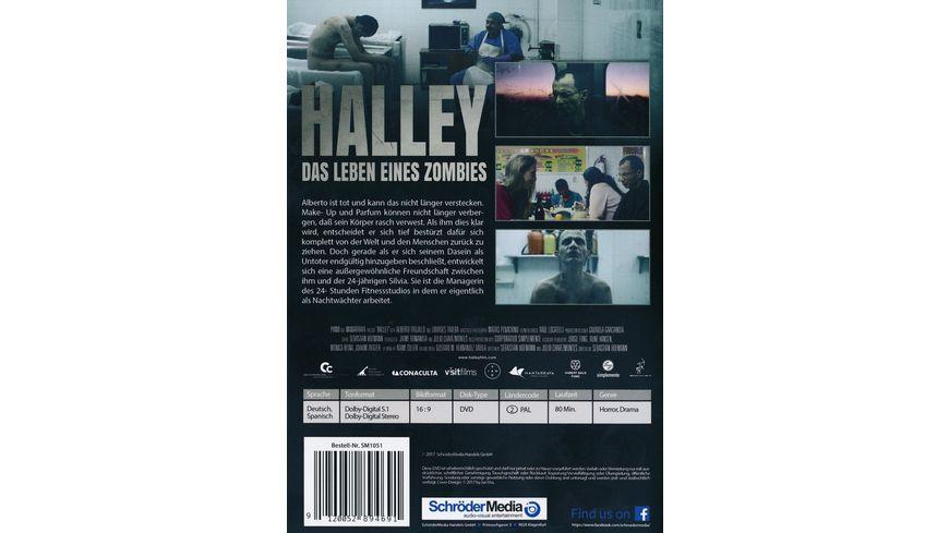 Halley Das Leben eines Zombies