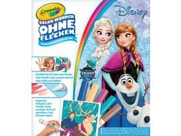 Vivid Crayola Disney Die Eiskoenigin Color Wonder Malbuch